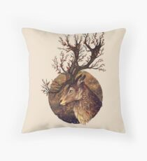 Autumn Embers Throw Pillow