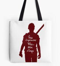 Your superhero flies, mine limps - Newt Maze Runner  Tote bag