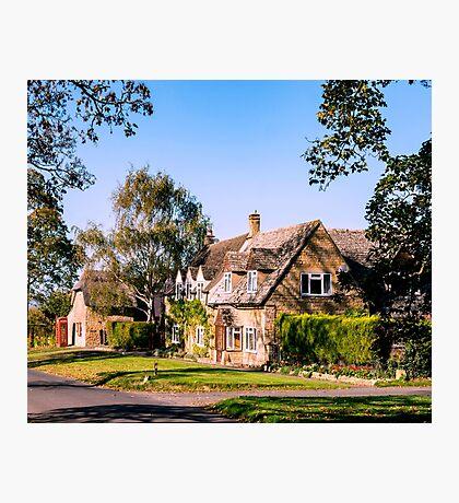 Autumn village. (v2) Photographic Print