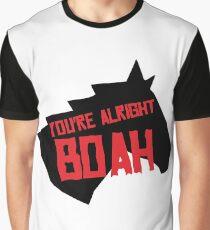 Camiseta gráfica Estás bien Boah Horse