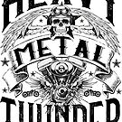 Heavy Metal Thunder - light background by clad63