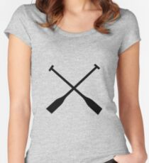 Paddles Women's Fitted Scoop T-Shirt