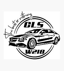Mercedes cls W218 Photographic Print