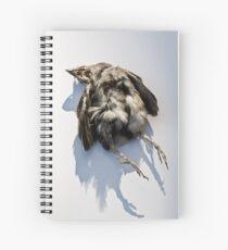 Poor Little Dead Bird Spiral Notebook