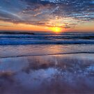 Reflections of Morn - Newport Beach,Sydney - The HDR Experience by Philip Johnson