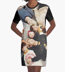 BTS T-Shirt Kleid