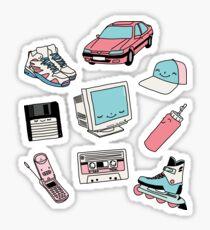 90er Jahre Paradies von Elebea Sticker
