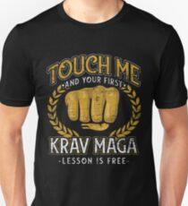 Krav Maga athlete Unisex T-Shirt