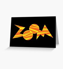 Zoom PBS TV Show Greeting Card