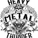 Heavy Metal Thunder - big size by clad63