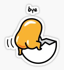 Gudetama Bye Sticker