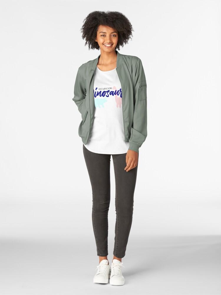 Alternative Ansicht von Gelegenheit: Dinosars Premium Rundhals-Shirt