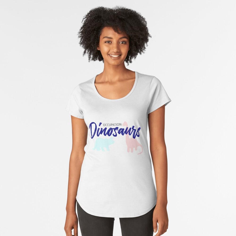 Gelegenheit: Dinosars Premium Rundhals-Shirt