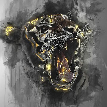 Tiger Head by GK-Graphics