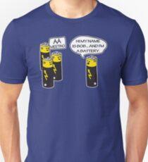 Aa Battery Meeting Funy T-Shirt Tee T-Shirt
