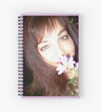 """Kiss A Girl featured in """"Inspired Art"""" Spiral Notebook"""