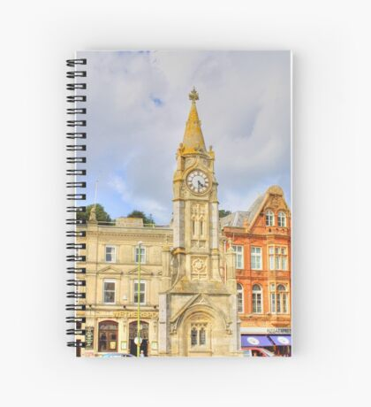 Torquay Town Clock Spiral Notebook
