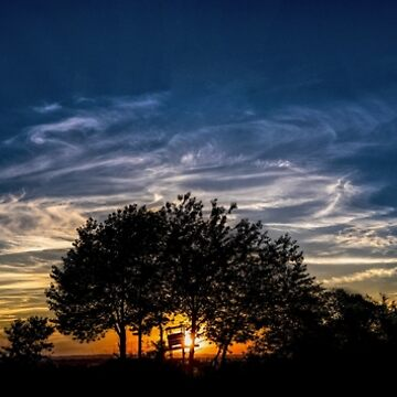 Sunset Clouds Evening  by GK-Graphics