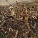 Battle of the Teutoburg Forest , 9 CE by edsimoneit