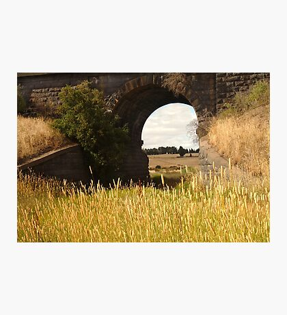 Railway Bridge,Geelong Outskirts Photographic Print