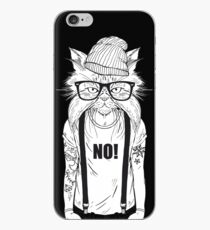 Cat Hipster iPhone Case