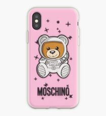 moschino rose Coque et skin iPhone