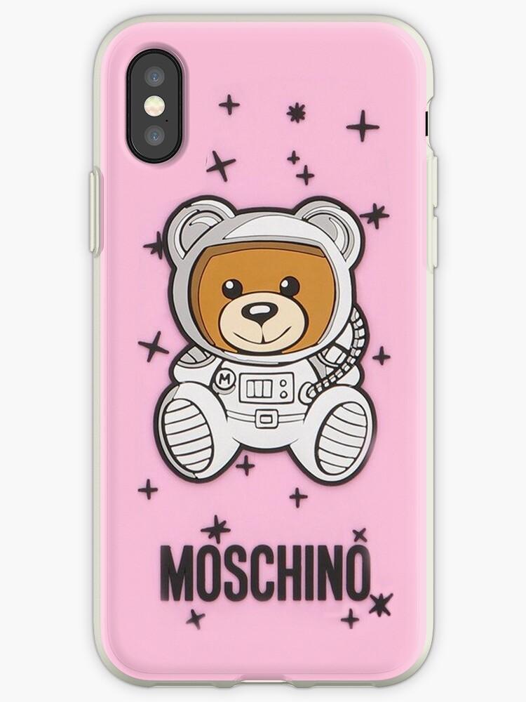 timeless design ebceb 26ec0 'pink moschino' iPhone Case by burnsesusan