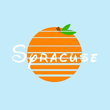 Syracuse and Oranges (white) by Randy8560