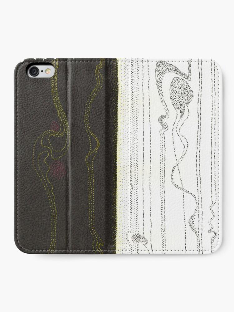 Alternate view of Evolutions - Beginnings iPhone Wallet