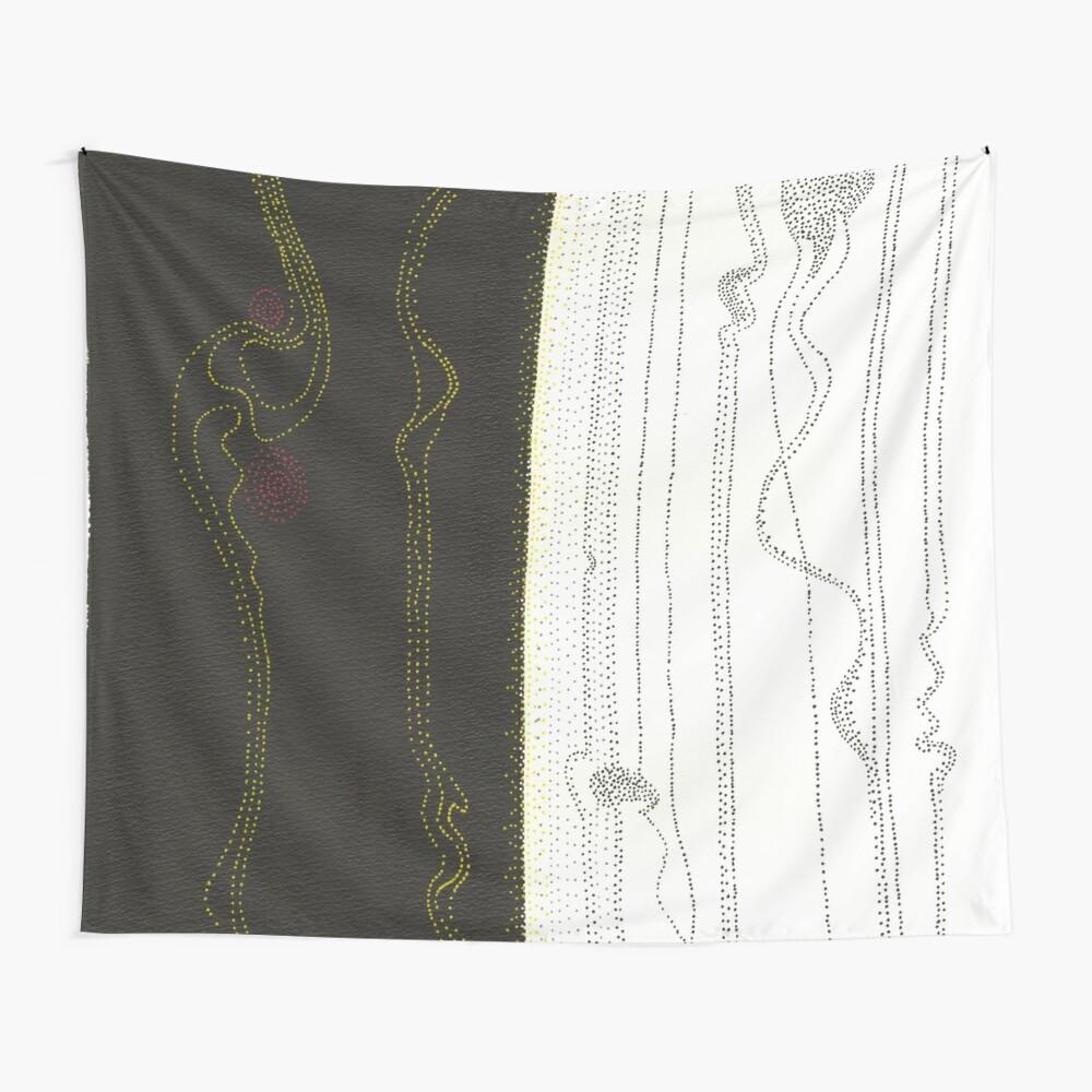 Evolutions - Beginnings Wall Tapestry