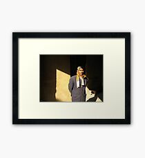 Man of India Framed Print
