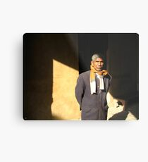 Man of India Metal Print