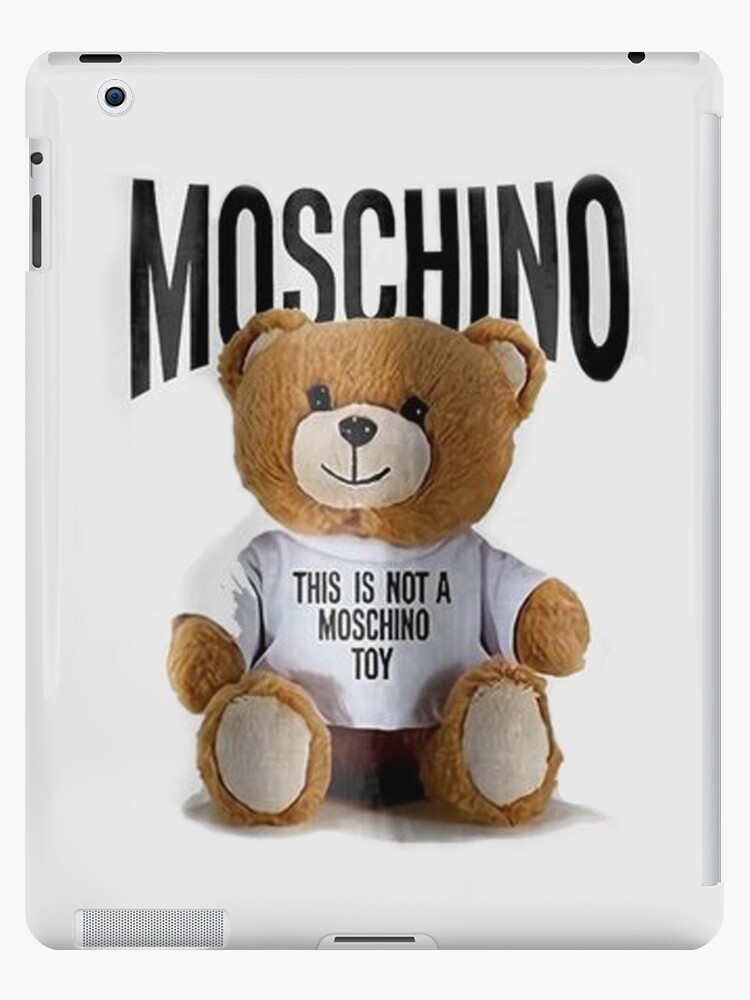 new product 17af9 a148d 'moschino toy bear' iPad Case/Skin by lewgrugary