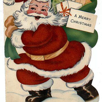 Santa Claus vintage by Geekimpact
