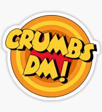 Crumbs DM Penfold Catchphrase Sticker