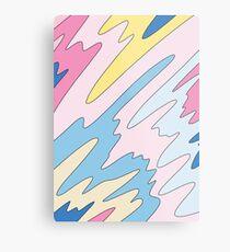 Pastel sky by Elebea Metal Print