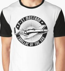 P-51 Mustang Cadillac of the Sky Graphic T-Shirt