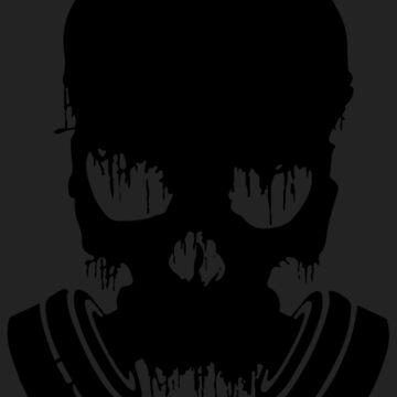 Black Skull by FayeLangoulant