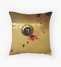 You Cant Wash Away Your Guilt  Throw Pillow