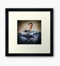 Michael Schumacher Mercedes 190 Framed Print