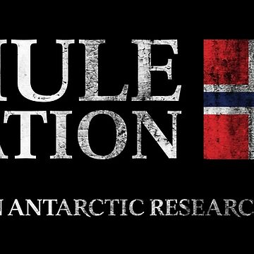 The Thing - Thule Station Antarctica Distressed by Purakushi
