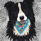 Happy Border Collie Boy by artlovepassion