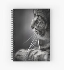 Whiskers Spiral Notebook