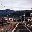 Arashiyama Station - Kyoto, Japan by IkuTree
