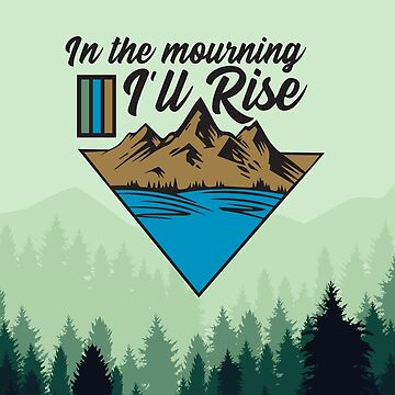 Paramore - In the Mourning Ill Rise (Mountains) by catalystdesign