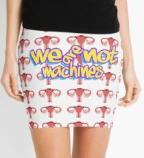 We are Not machines (90's version) Minifalda