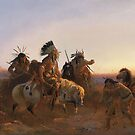 American Indians by German artist Karl Wimar by edsimoneit