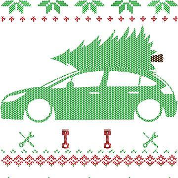 C4 Christmas Ugly Sweater XMAS by glstkrrn