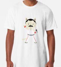 Don't Stop Meow!  Cute Freddie Cat Long T-Shirt