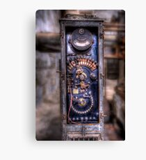 Analog Amperes On Steroids Canvas Print